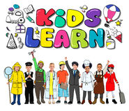 Kids Learn Education Creativity Children Ideas Concept Royalty Free Stock Images
