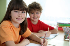 Kids Learning Stock Photography