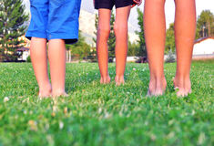 Kids legs Royalty Free Stock Images