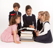 Kids lesson Royalty Free Stock Images