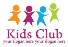 Kids logo stock illustration