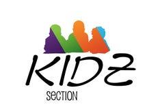Kids Logo Design Stock Images