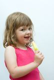 Kids love ice cream Royalty Free Stock Photography
