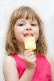 Kids love ice cream Stock Photo