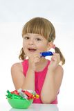 Kids Love Sweets Royalty Free Stock Images