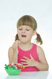 Kids love sweets Royalty Free Stock Image