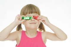 Kids love sweets Stock Photography
