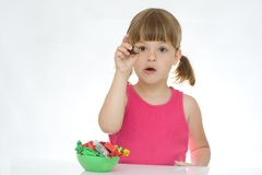 Kids love sweets Royalty Free Stock Photography
