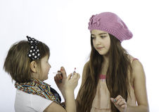 Kids make-up Royalty Free Stock Photography