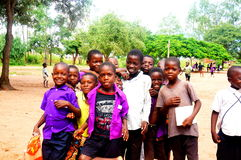 Kids in Malawi, Africa Stock Photo