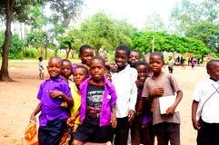 Kids in Malawi, Africa Stock Photo