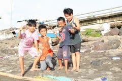 Kids of Manado Royalty Free Stock Photography