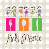 Kids menu Royalty Free Stock Photography