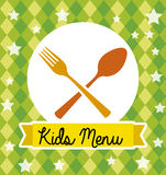 Kids menu Stock Photo