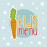 Kids menu Royalty Free Stock Images