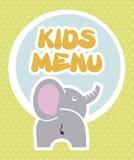 Kids menu Stock Images