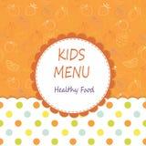 Kids menu Stock Photos