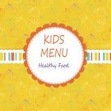 Kids menu Royalty Free Stock Image