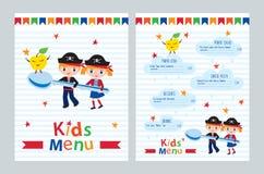 Kids menu. Royalty Free Stock Photography