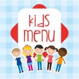 Kids menu Royalty Free Stock Images