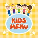 Kids menu Royalty Free Stock Photography