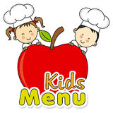 Kids menu Royalty Free Stock Photo