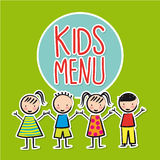 Kids menu Royalty Free Stock Image