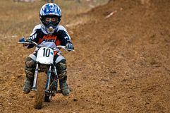 Kids Motocross Royalty Free Stock Photos