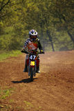 Kids Motocross. Stock Photos