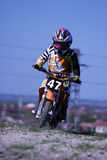 Kids Motocross-47. Royalty Free Stock Photos