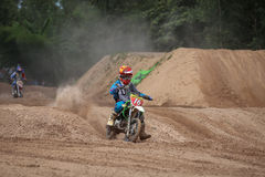 Kids,Motocross Fuse racing thailand 2015 Royalty Free Stock Photos