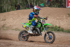 Kids,Motocross Fuse racing thailand 2015 Royalty Free Stock Photography