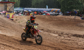 Kids,Motocross Fuse racing thailand 2015 Stock Photos