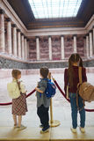 Kids in museum Royalty Free Stock Images