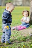 Kids in nature Royalty Free Stock Photos
