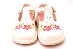 Kids new shoes Royalty Free Stock Images