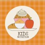 Kids nutrition Stock Image