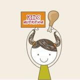 Kids nutrition Stock Photo