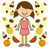 Kids nutrition Royalty Free Stock Image