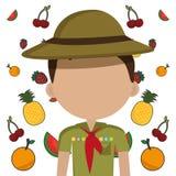 Kids nutrition Stock Photography