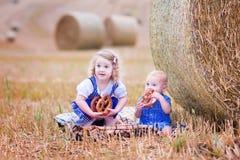 Kids during Oktoberfest Royalty Free Stock Photo