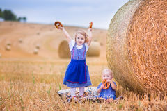 Kids during Oktoberfest Royalty Free Stock Images