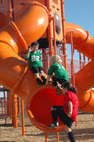 Kids On A Playground Stock Photography