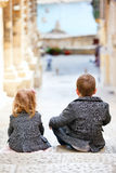 Kids outdoors Royalty Free Stock Photo