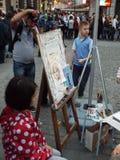 Kids painting workshop Royalty Free Stock Photo
