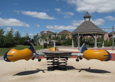 Kids park play structure Stock Photos