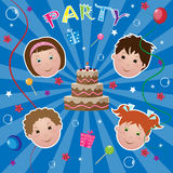 Kids party Stock Photos