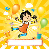 Kids party Stock Images