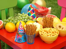 Kids party Stock Image