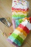 Kids Party Cake Royalty Free Stock Photos